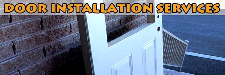 Home door installation project