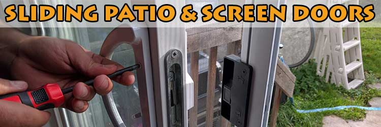 Sliding patio door handle